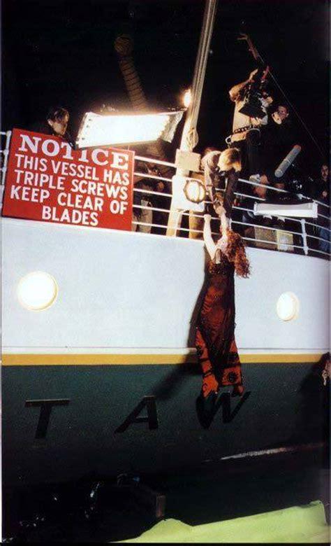 film titanic behind the scenes behind the scenes titanic photo 5850689 fanpop