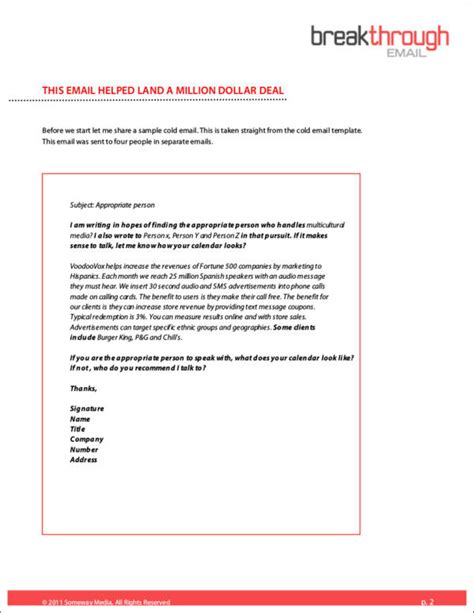 Company Introduction Letter Format Sle Templates Introducing Company Via Email Template