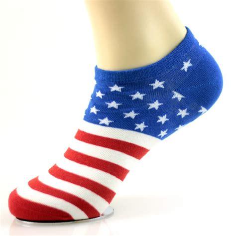 2016 Fashion Men Socks Women Sox Comfortable Cotton Flag