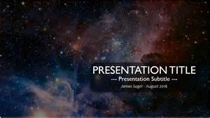 space powerpoint template space nebula powerpoint template free space nebula