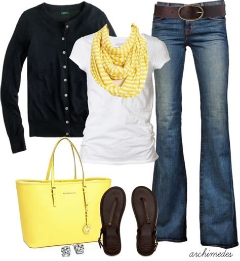 picture outfit ideas cute outfit ideas of the week all about yellow
