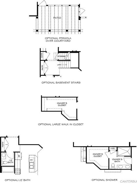 epcon canterbury floor plan canterbury models heather glen at the legends epcon
