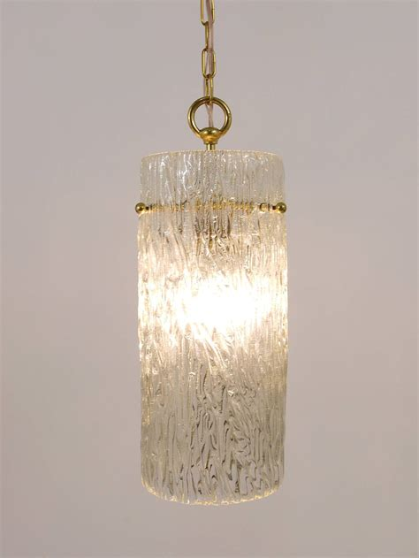 Matching Pendant Lights And Chandelier Two Matching Pair Of Kalmar Glass Brass Pendant Ls Austria 1950s For Sale At 1stdibs