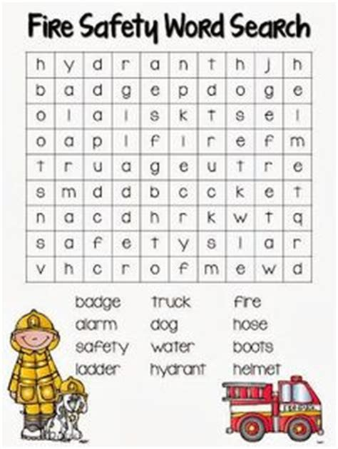 other words for safe fire safety word search printable grade 2 tyxgb76aj
