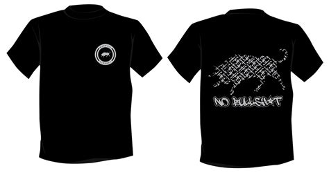 Kaos Pull Hitam limited edition no bullsh t t shirt apparel products