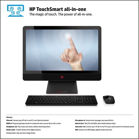 Touchscreen Ts Asiafone Af9909 1 hp envy recline 23 m120 touchsmart beats se all in one pc front view