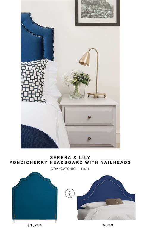 Serena And Headboard by Serena Pondicherry Headboard With Nailheads Copy