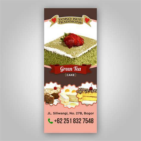 design banner toko kue desainer kontes desain banner billboard toko kue tradision