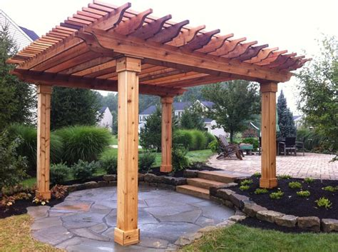 pergola pergola design gazeboremodeling kansas city cedar arbor plans 187 woodworktips