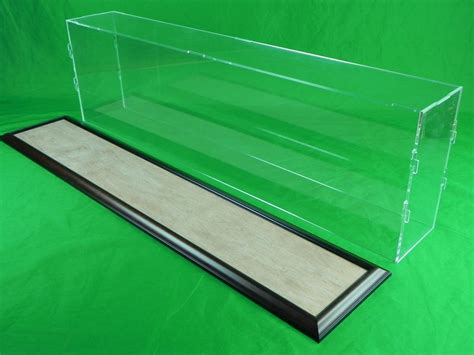 47 x 15 x 38 inch acrylic table top display case kit for