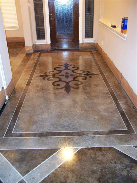 best 25 painted concrete floors ideas on