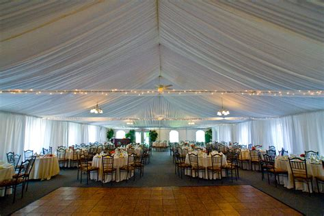 Draping A Tent 11 Locations For Your Tent Wedding In New Jersey