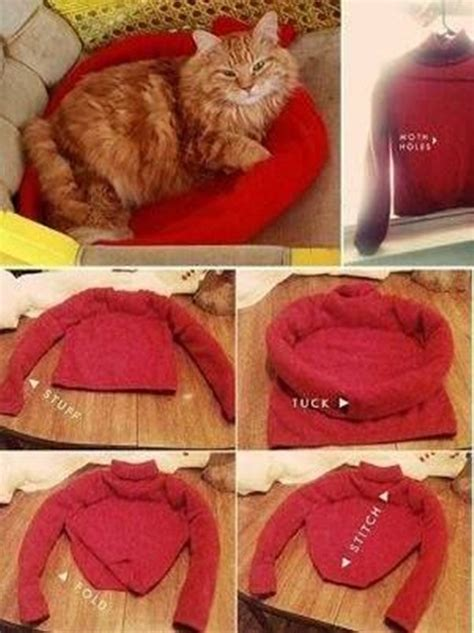 cat tent bed wonderful diy cat tent bed from old shirt