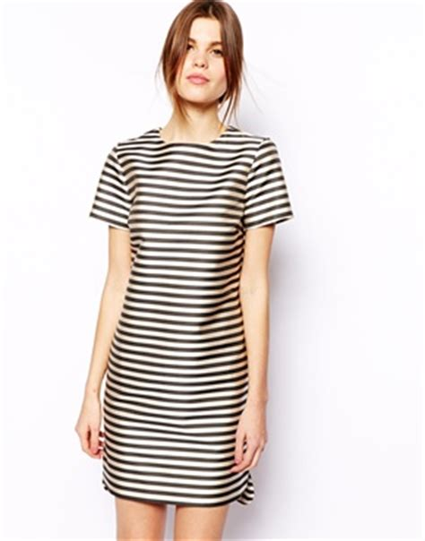 Dress Stripe Dress Qi stripy dresses wiwt my midlife fashion