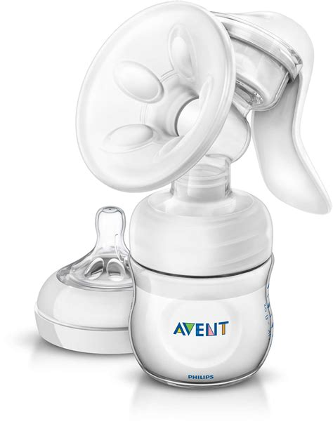 Avent Manual Breastpump Standard manual breast with bottle scf330 20 avent