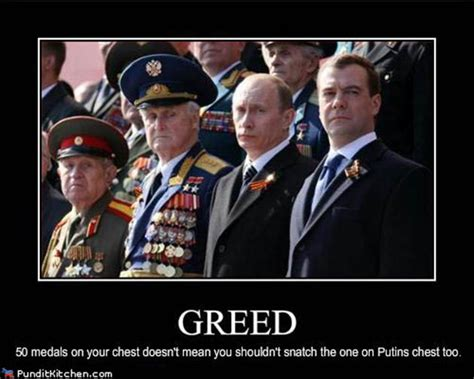 Putin Funny Memes - vh political pictures putin greed
