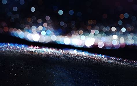 Sparkling Lights by Solid Color Wallpaper 1920x1080 57826
