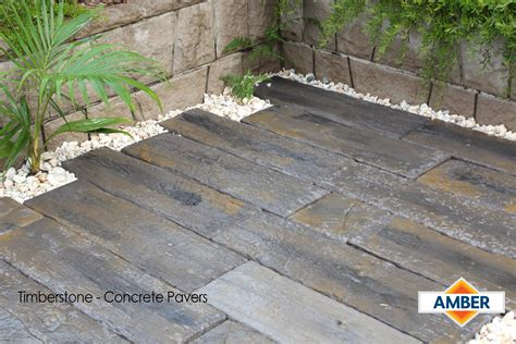 timberstone concrete pavers outdoor renovation