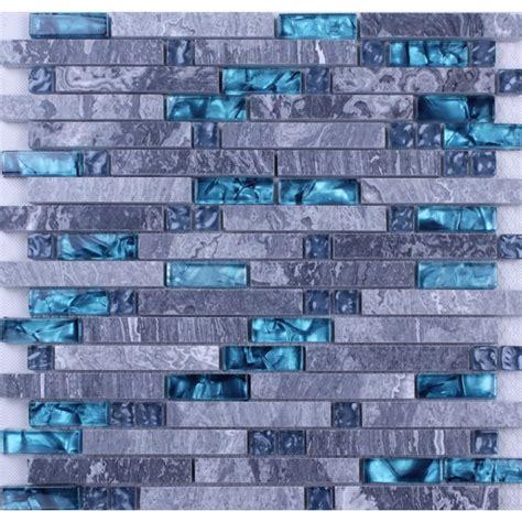 blue marble tiles bathroom blue glass stone mosaic wall tiles gray marble tile
