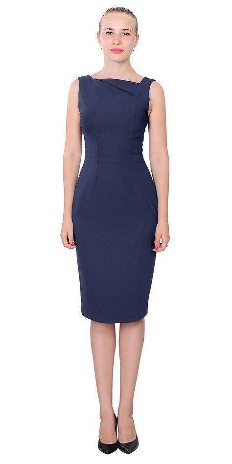 Sleeveless Mini Midi Dress s simple sleeveless work dress office