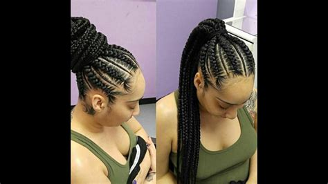 latest ghana weave on ghana braids hairstyles latest ghana weaving styles youtube