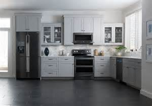 Black Kitchen Cabinets With Stainless Steel Appliances Stainless Steel Is Out Black Stainless Steel Is In Appliances Connection