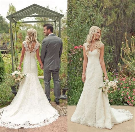 wedding dresses for country wedding chic vintage lace country wedding dresses ipunya