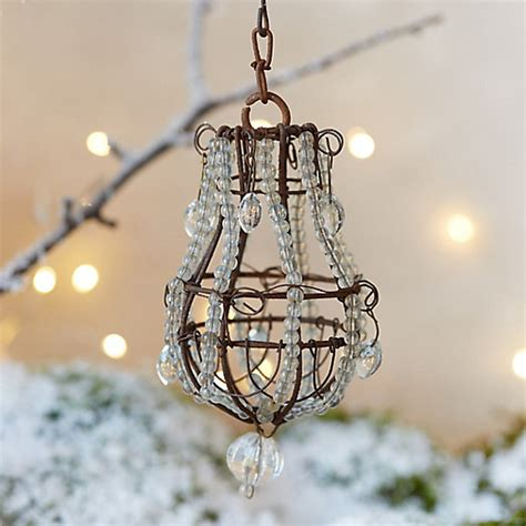 Beaded Chandelier Ornament Terrain Chandelier Ornaments