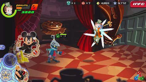 screenshots  kingdom hearts unchained xchi  gamer