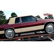 89 93 Cadillac Coupe DeVille On 24 DUB Kingster Floaters