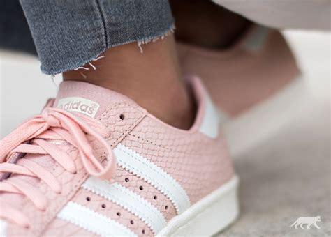 adidas superstar 80s w blush pink white blush pink asphaltgold