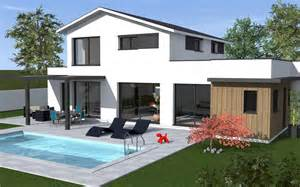 maison moderne 224 233 tage toit terrasse maisons bati sud
