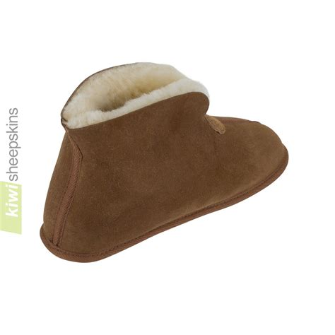 sole slippers bootie slipper indoor soft sole sheepskin slippers