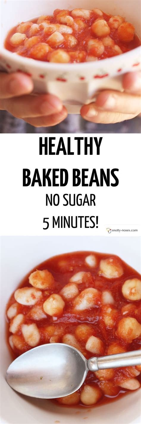 Sugar Detox No Beans by Healthy Baked Beans No Sugar Beans Recipes Baked Beans