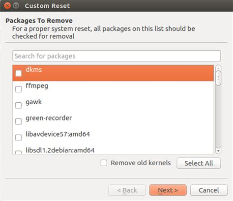 resetter for ubuntu reset ubuntu system to installation stage using resetter