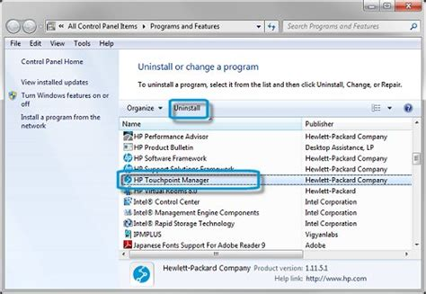 can not uninstall hp support assistant hp support forum hp touchpoint manager uninstalling hp touchpoint manager