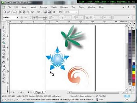 how to use interactive doodle how to use interactive drop shadow tutorial corel draw