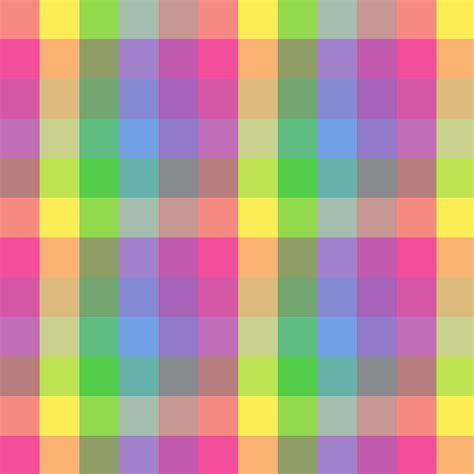 Cute Pattern Clipart | cute colorful checkered pattern free clip art