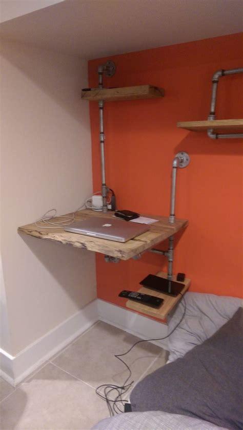 Woods Plumbing by Diy Bedroom Furniture Using Reclaimed Wood And Plumbing