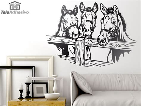 Kitchen Wall Decor Stickers vinilo con caballos blog teleadhesivo