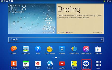 email android samsung galaxy tab student nmbu support