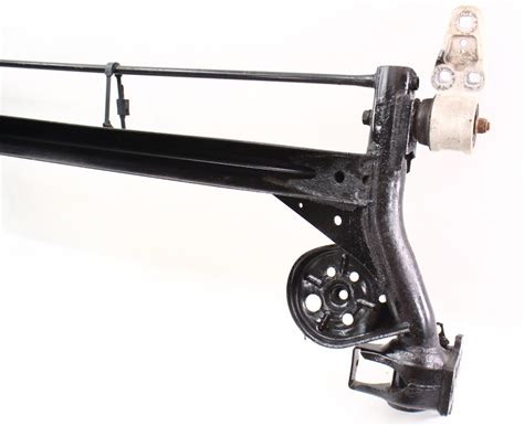vw rear suspension aircoolednet vw parts rear suspension solid axle beam 98 05 vw passat b5 b5 5
