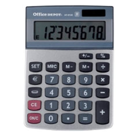 Office Depot Calculators by Office Depot At 812e Desktop Calculator By Viking
