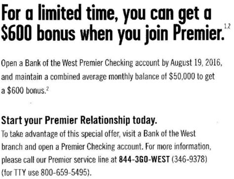 bank of the west checks targeted bank of the west checking bonuses 600 az ca