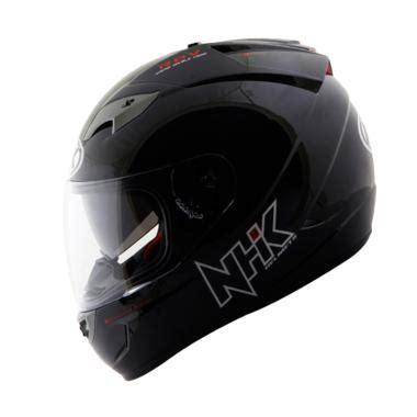 Kancingan Pengait Helm jual nhk gp 1000 solid helm black