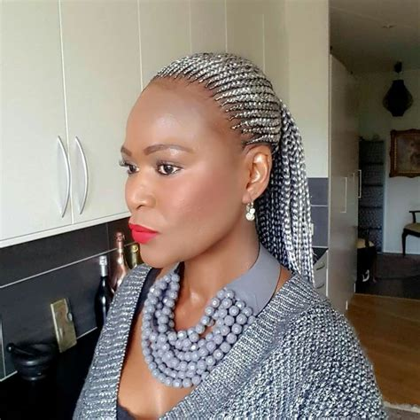 braids style for grey hair silver grey cornrows braids cornrows hairstyles