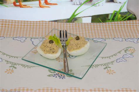 ricetta per cucinare i ceci uova ripiene con ceci ricette di cucina