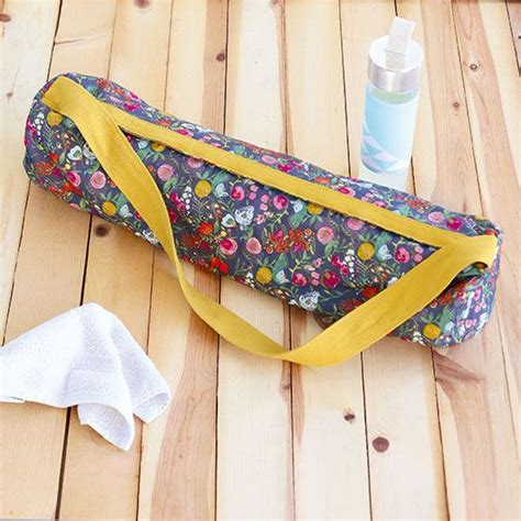sew  yoga mat bag inspired   great british