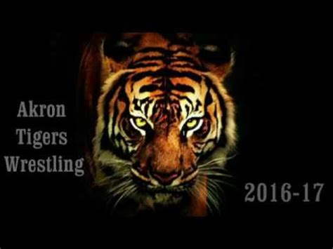 the newest akron homicides youtube 2016 2016 17 akron tigers wrestling highlight film youtube