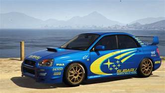 subaru impreza wrx sti 2004 world rally team livery